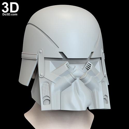 Ushar Knights of Ren Helmet Star Wars Rise of Skywalker 3D Model Project #N12