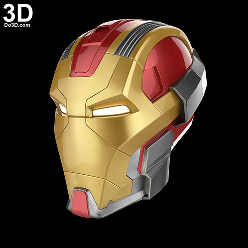 Iron Man Mark XVII HeartBreaker MK 17 Helmet | 3D Model Project #4122
