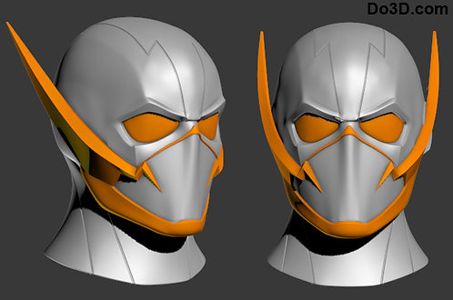 GodSpeed Helmet, Mask, Cowl | 3D Model Project #1204