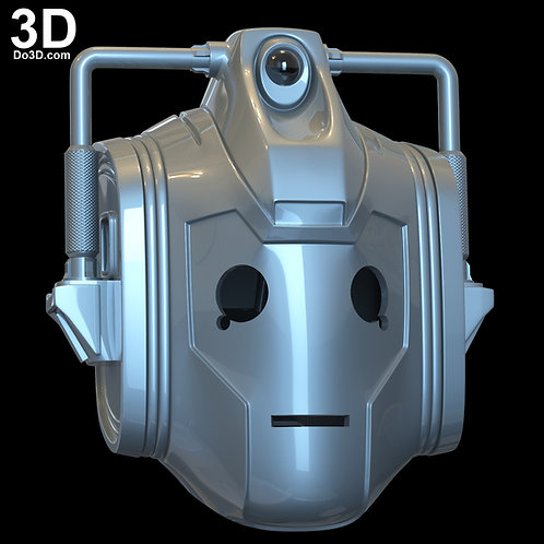 Doctor Who New Cybermen Cyber Men Helmet | 3D Model Project #N10