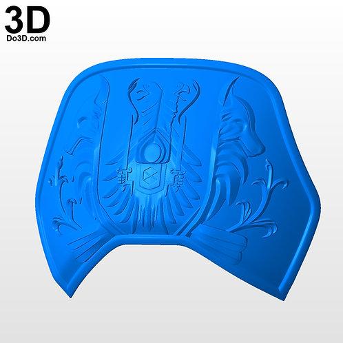 Chest & Back Armor of Alpha Lupi Year 1 Titan Destiny | 3D Model Project #5962