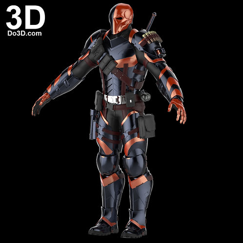 Deathstroke Arkham Knight Costume Armor Suit | 3D Model Project #29