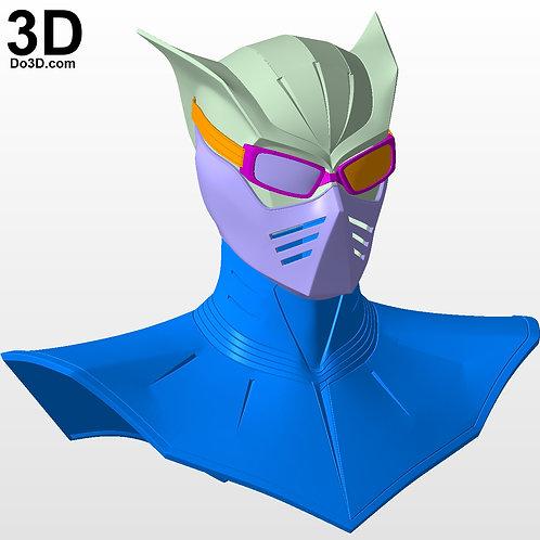 Watchmen Nite Owl Helmet Daniel Dreiberg Cowl | 3D Model Project #4506