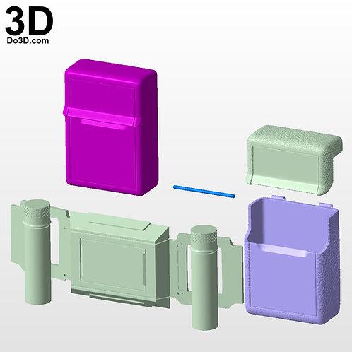 Batman Justice League Tactical Belt | 3D Printable Model STL Print File #BT12