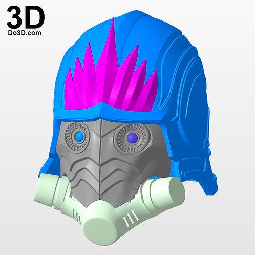 Star Lord Comic Version Helmet | 3D Printable Model #3075