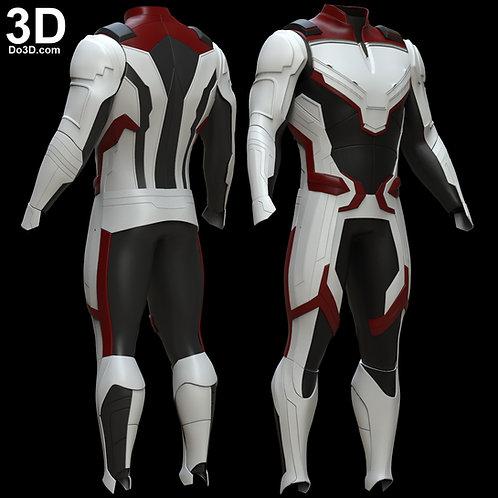 Avengers 4 Quantum Realm Time Travel Suit | 3D Model Project #5676