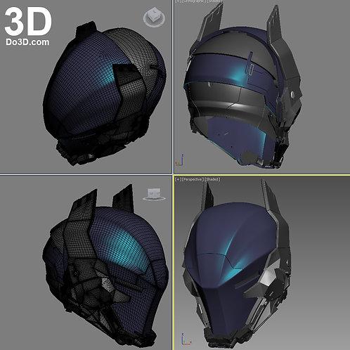 New Arkham Knight Helmet | 3D Printable Model #1104