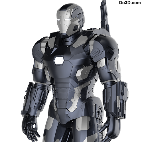 War Machine Mark III MK 003 Iron Man Armor | 3D Model Project #42
