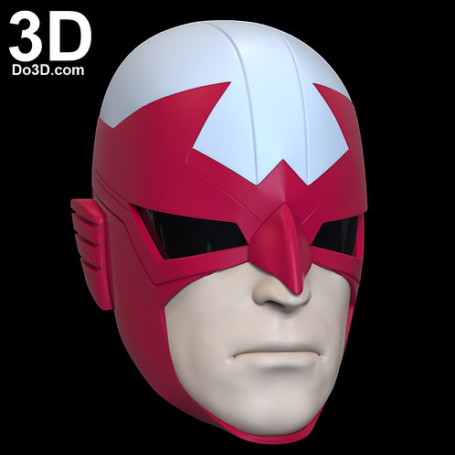 Hawk Titans Helmet | 3D Model Project #6468