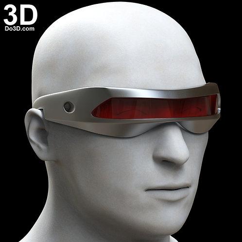 X-Men Cyclops Dark Phoenix Laser Beam Visor Glasses   3D Model Project #6222