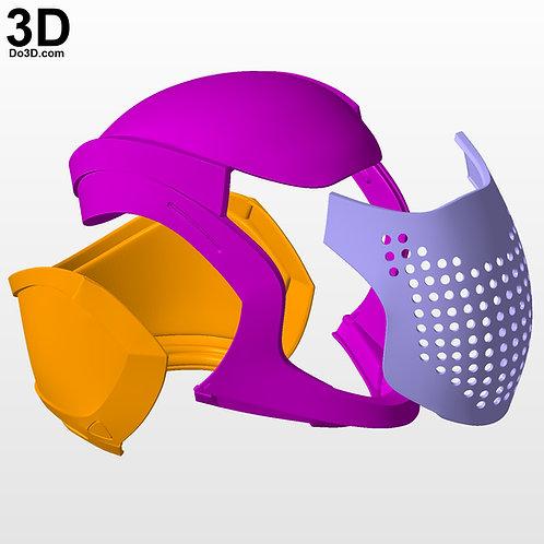 An Insurmountable Skullfort Destiny 2 Helmet  3D Printable Model #3894