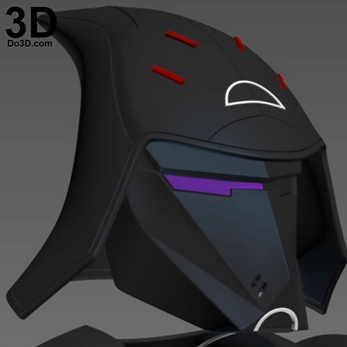 Seventh Sister Star Wars Rebels Helmet | 3D Printable Model #7S1