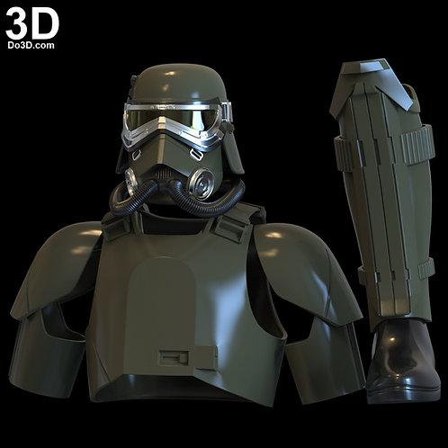 MudTrooper Swamp Mud Trooper Helmet + Armor | 3D Printable Model #4921