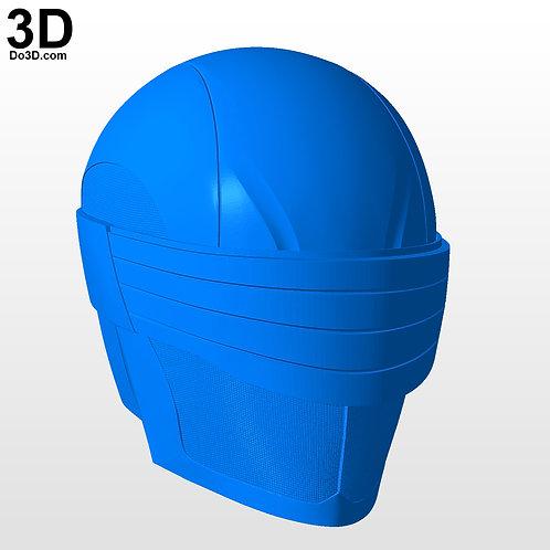 Snake Eyes Type 1 Helmet form G. I. Joe | 3D Model Project #258