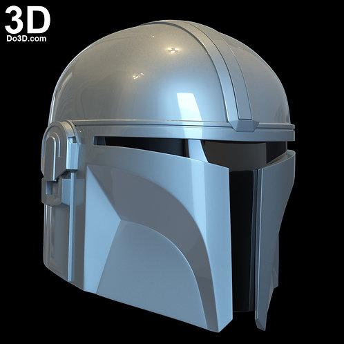 Mandalorian Din Djarin Helmet   3D Printable Model Print File STL #N06