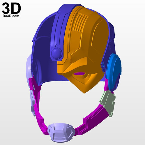 Cyborg Justice League Variant Helmet Prime One | 3D Printable Model #3225