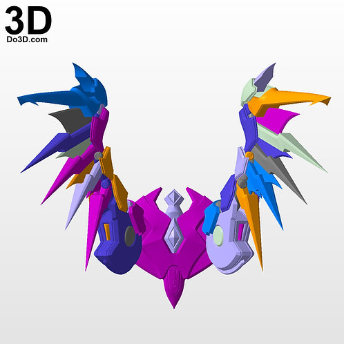 Devil / IMP Mercy Wings BackPack Overwatch | 3D Model Project #3116