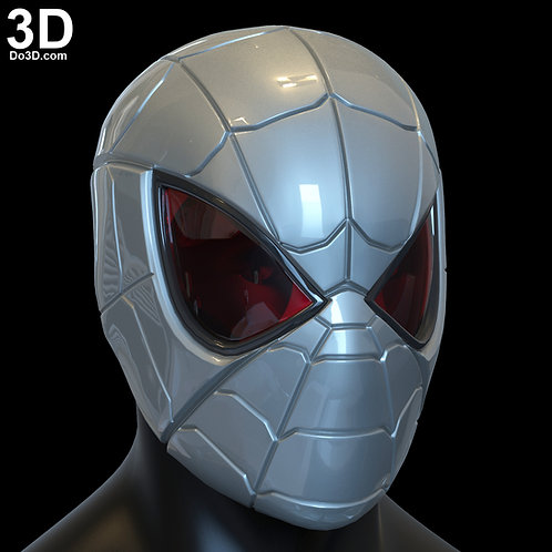 Armored Spider-Man MK 1 Hemet | 3D Printable Model STL Print File #SP17