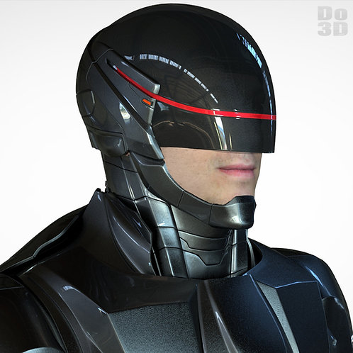 RoboCop Black Armor Suit 2014 | 3D Printable Model Project #41