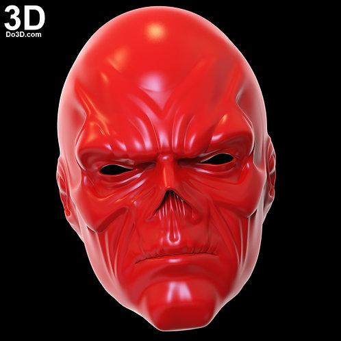 Red Skull Mask / Helmet from Avengers Infinity War | 3D Model Project #4977