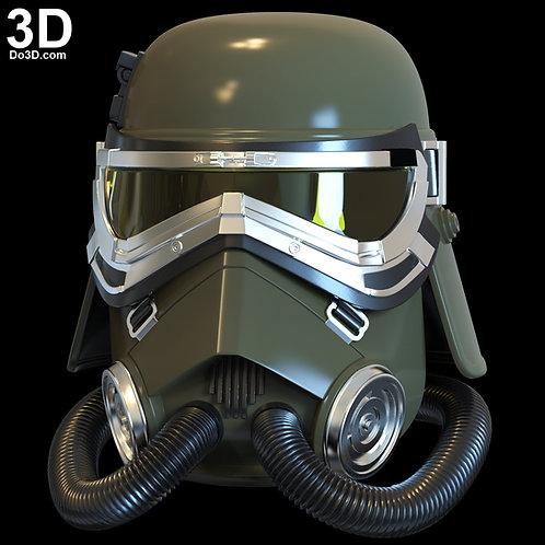 MudTrooper Swamp Trooper Helmet Mud Trooper | 3D Printable Model #H921