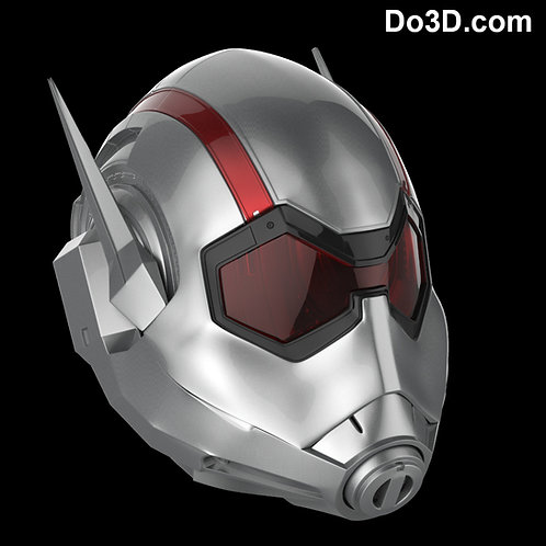 WASP Ant-Woman Concept Helmet | 3D Model Project #421