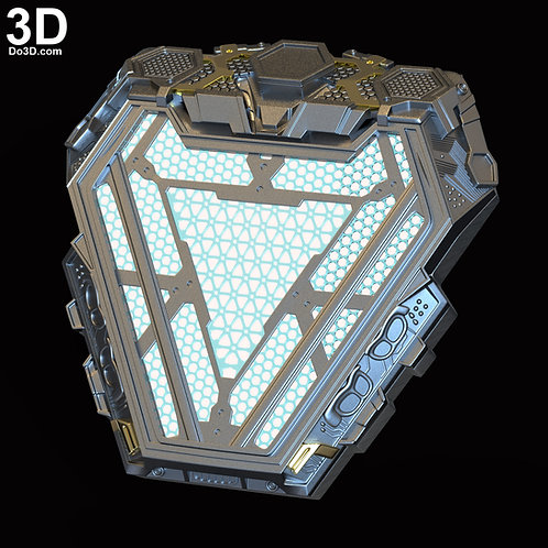 Iron Man Mark LXXXV MK 85 Nano Arc Reactor | 3D Model Project #6062
