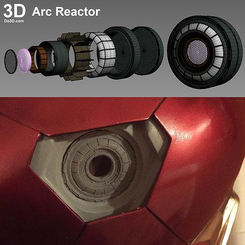 Iron Man Uni-beam Arc Reactor Model  | 3D Model Project #708
