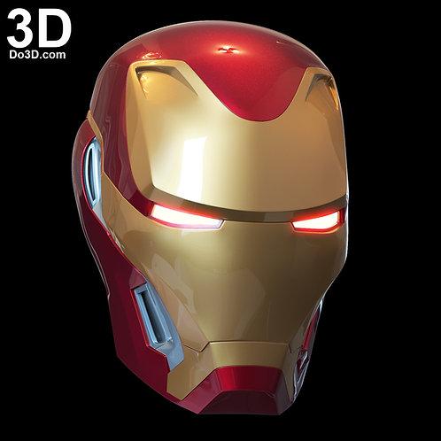 3D Printable Model: Iron Man Mark L MK 50 Helmet | Print File Format STL #2903