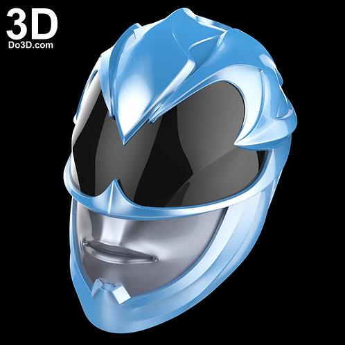 Blue Ranger 2017 Helmet Power Ranger | 3D Printable Model Project #1681