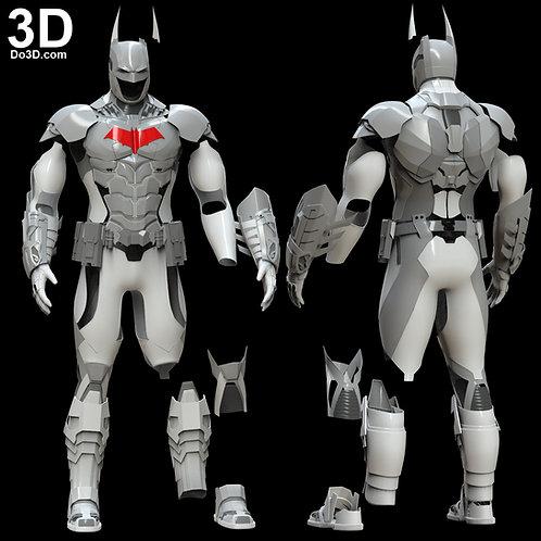 Full Body Batman Batsuit Armor from Arkham Knight | 3D Model Project #321