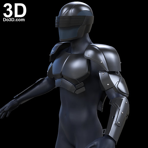 Snake Eyes G.I. Joe Armor, Suit, Helmet | 3D Model Project #989