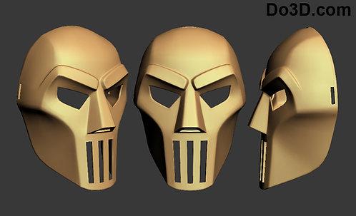 Casey Jones Mask / helmet    3D Model Project #446