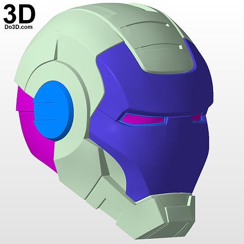 War Machine 001 Helmet Iron Man Mark I MK 1 | 3D Model Project #4651