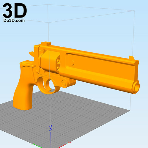 Metal Gear Solid 5 Gun / Pistol | 3D Model Project #1689
