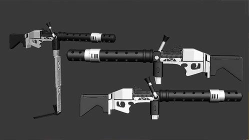 Heavy Gunner Stormtrooper's Sonn-Blas FWMB-10 Megablaster   3D Project #30