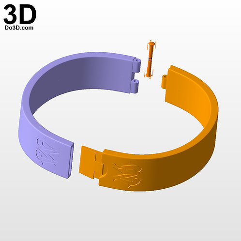 Dumbledore's Admonitors Bracelet | 3D Model Project #5608