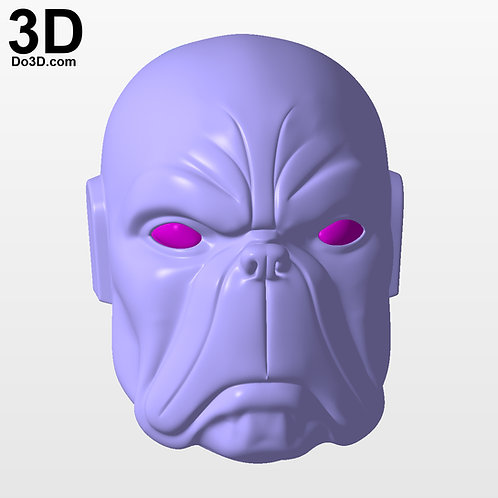 Doga Helmet Raj Comics Mask | 3D Printable Model #3779