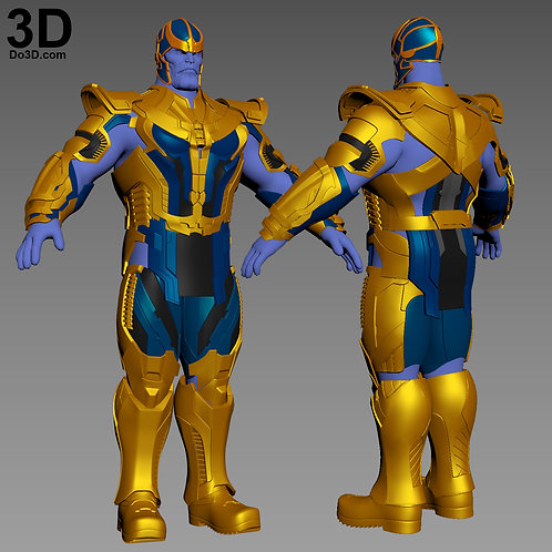 Thanos Armor Guardians of the Galaxy | 3D Model Project #3121