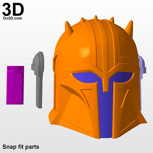 Armorer Mandalorian Blacksmith Helmet Only | 3D Model Project #N05