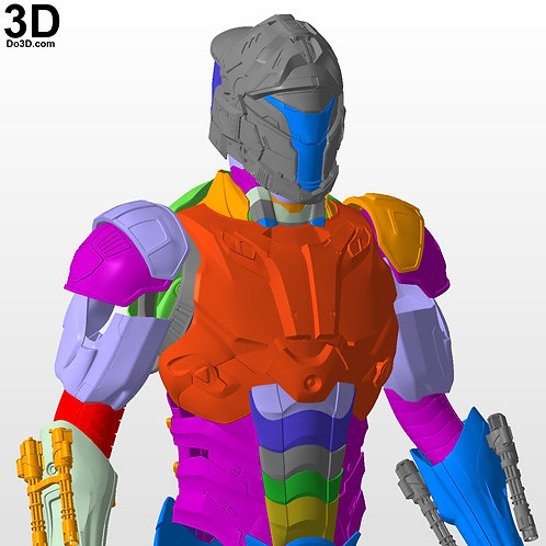 DMK-1 Armor Robot Suit Design Concept | 3D Printable Model STL File DMK1 #2972
