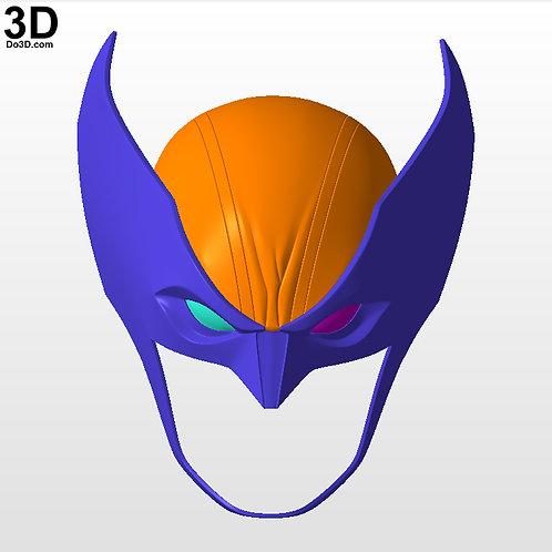 Wolverine Fortnite Cowl / Helmet | 3D Printable Model STL Print File