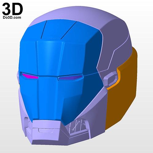 Iron Man Mark XXXV Red Snapper MK 35 Helmet Only | 3D Model Project #M1