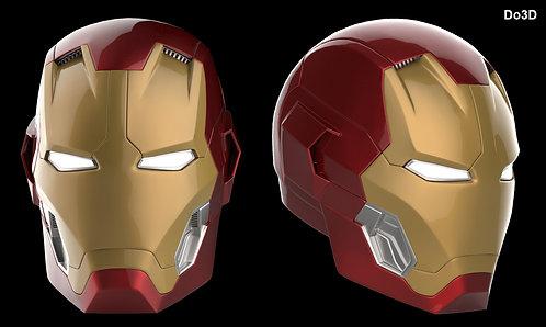 Iron Man Mark XLV Helmet  MK 45 | 3D Printable Model Project #33