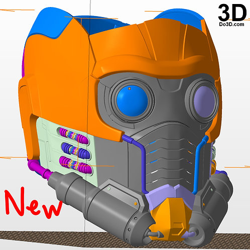 Star Lord Helmet Star-Lord | 3D Model Project #N30