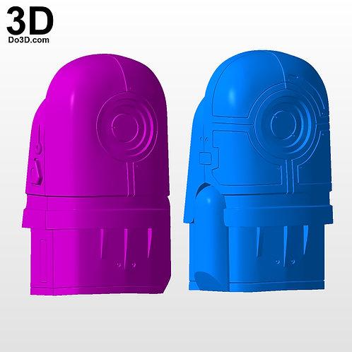 RoboCop Classic Bicep Armors 1987 Film | 3D Printable Model #5475
