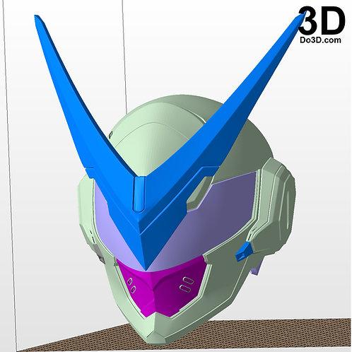 Genji Sentai Helmet Overwatch Anniversary | 3D Model Project #2758