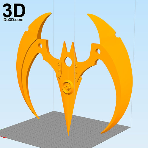 Batman Beyond Weapon Batarang | 3D Model Project #3719