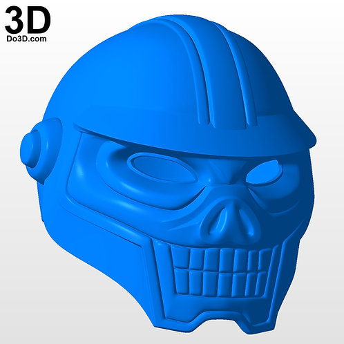 GI JOE Cobra Range Viper Helmet | 3D Model Project #5379