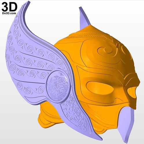 Jane Foster Lady Thor Helmet | 3D Printable Model Project #4540